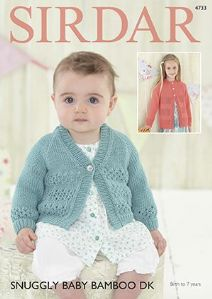 3d47ab653866 Sirdar Snuggly Baby Bamboo DK - Knitting Patterns
